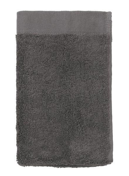 guest towel - 33 x 50 cm - hotel extra soft - plain dark grey dark grey guest towel - 5220035 - hema