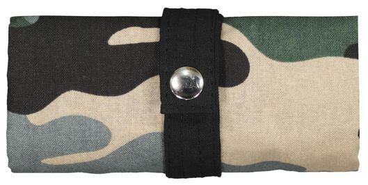 tas opvouwbaar canvas 40x36 camouflage - 14590200 - HEMA
