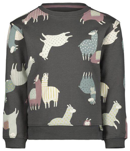 Kinder-Sweatshirt, Alpaka bunt 122/128 - 30870079 - HEMA