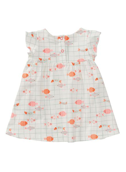 baby dress off-white off-white - 1000007299 - hema