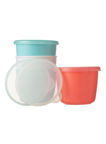 4 pots alimentaires avec couvercles - 33541026 - HEMA