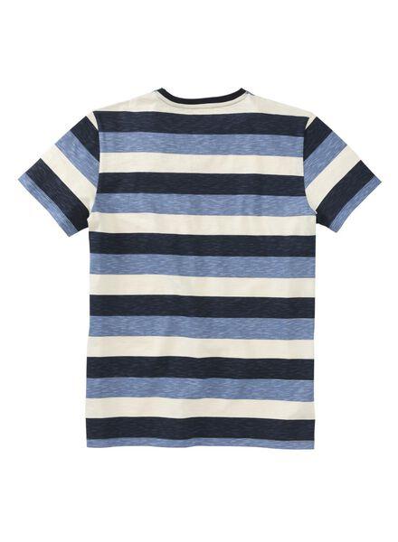 men's T-shirt blue blue - 1000007362 - hema