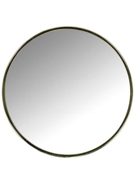 Spiegel Ø 30 cm, gold - 60100420 - HEMA