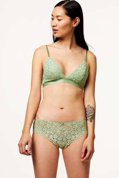 B.A.E. Damen-Brazilian, Blütenspitze hellgrün hellgrün - 1000022601 - HEMA