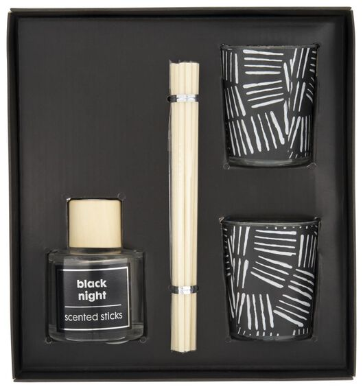 gift box scent black night - 13502493 - hema