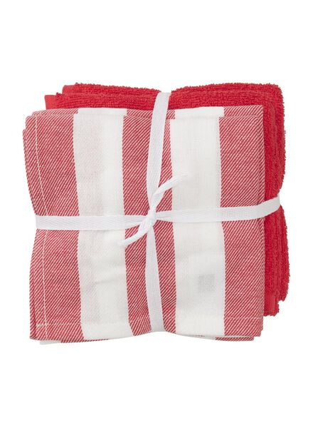 4-pack tea and kitchen towels - 5450033 - hema