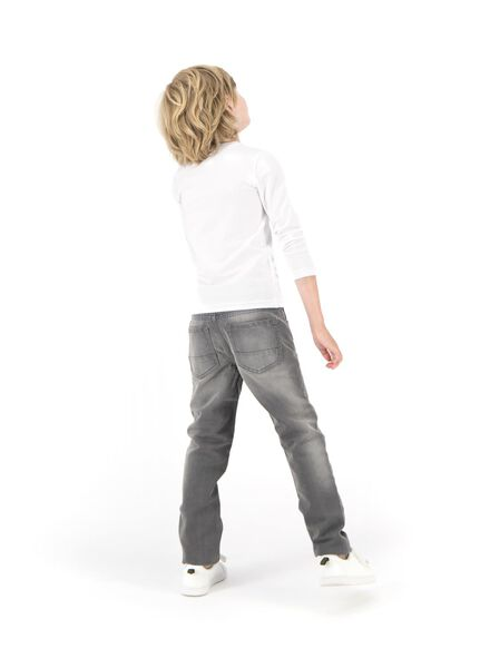 pantalon enfant gris gris - 1000004557 - HEMA