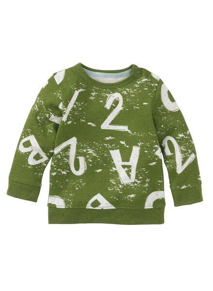 HEMA Babysweater Grün