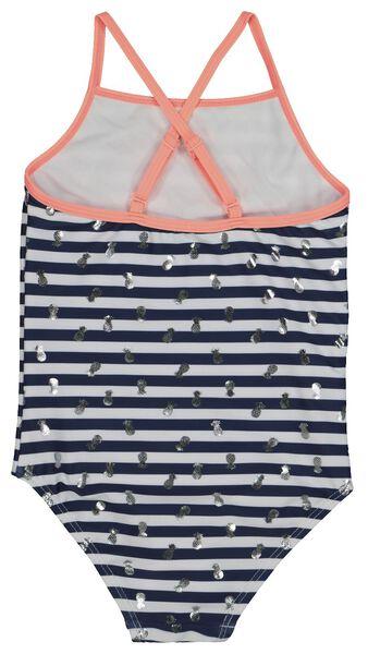 children's swimsuit dark blue dark blue - 1000018228 - hema