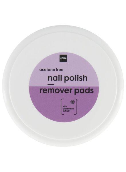 nail polish remover pads - 11243084 - hema