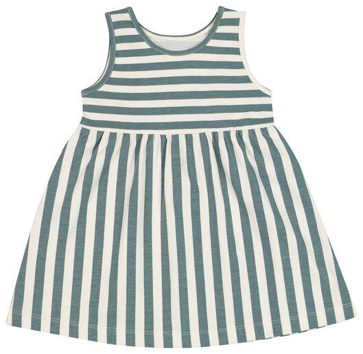 Babykleiderroecke - HEMA Baby Kleid, Biobaumwolle Eierschalenfarben - Onlineshop HEMA