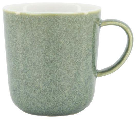 mug Chicago 280 ml - émail réactif - vert - 9602159 - HEMA