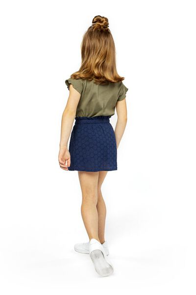 children's skirt dark blue dark blue - 1000019003 - hema