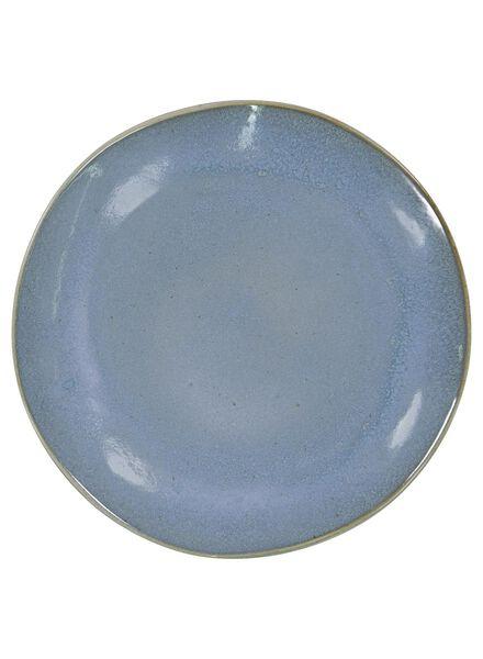assiette plate 26 cm - Porto émail réactif - bleu - 9602021 - HEMA
