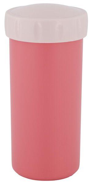 Trinkbecher mit Deckel, 300 ml, rosa - 80600112 - HEMA