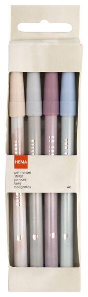 4 stylos - 14450040 - HEMA