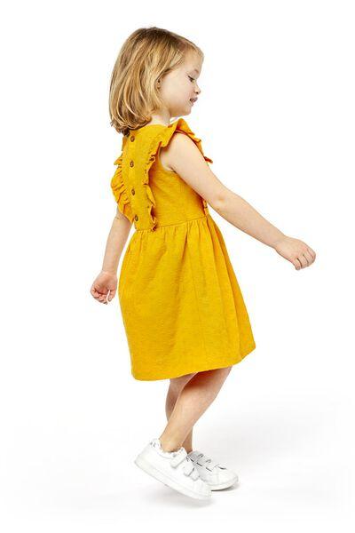 children's dress yellow yellow - 1000019031 - hema