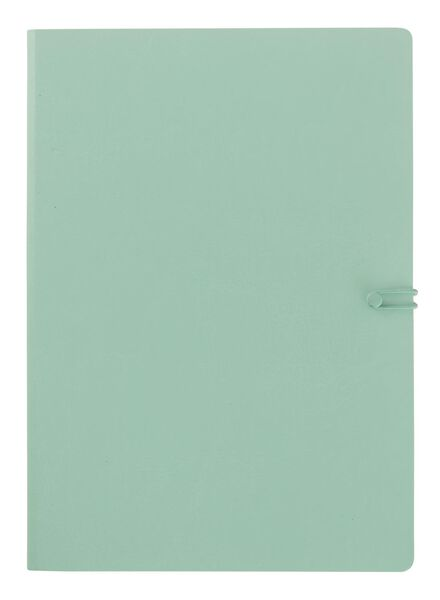bloc-notes 18,5 x 25,5 cm ligné - 14110001 - HEMA