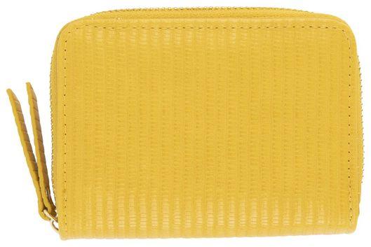 HEMA Portemonnaie, 9 X 12 Cm, Gelb