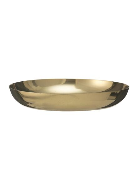 candle plate - Ø 12 cm - gold - 13382062 - hema