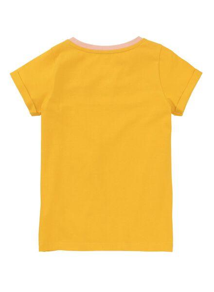 Kinder-T-Shirt gelb - 1000011075 - HEMA