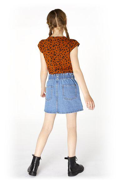 children's skirt denim mid blue mid blue - 1000020287 - hema