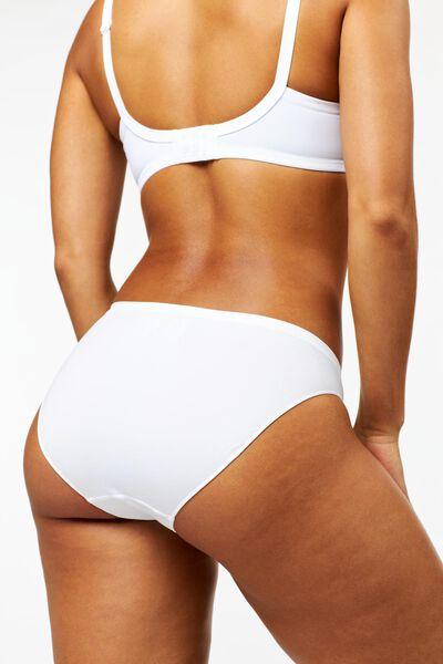 Damen-Slip, nahtlos weiß weiß - 1000002205 - HEMA