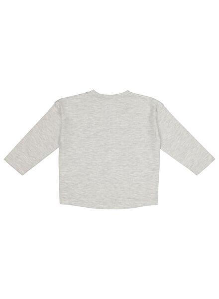baby T-shirt grey melange grey melange - 1000017507 - hema
