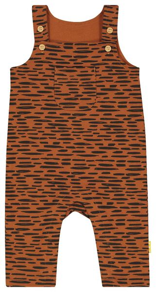 newborn jumpsuit brown brown - 1000018724 - hema