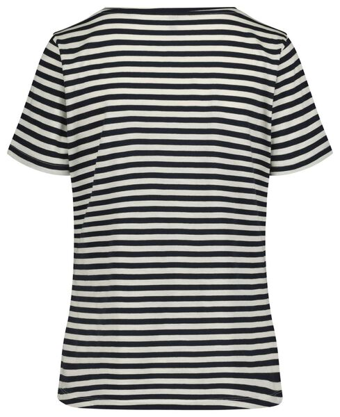 women's T-shirt dark blue dark blue - 1000019254 - hema