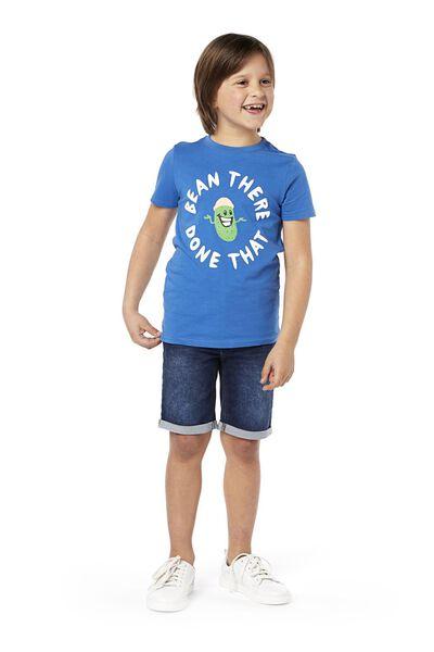 children's jog denim shorts dark denim dark denim - 1000018917 - hema