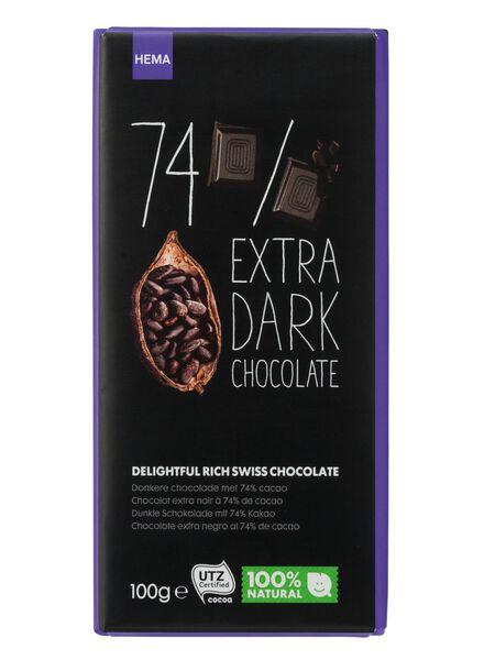 chocolat noir contenant 74 % de cacao - 10370033 - HEMA