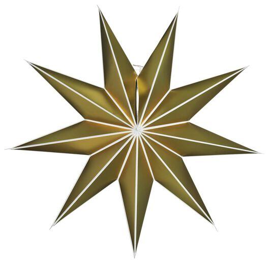 Image of HEMA Christmas Star Paper Ø100cm Gold (gold)
