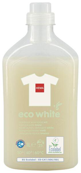 eco liquid detergent white 1L - 20510047 - hema