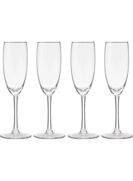 4-pack champagne glasses 190ml - 9402021 - hema