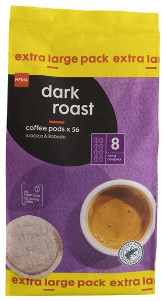 56er-Pack Kaffeepads, Dark Roast - 17150035 - HEMA