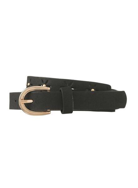women's belt black black - 1000006468 - hema