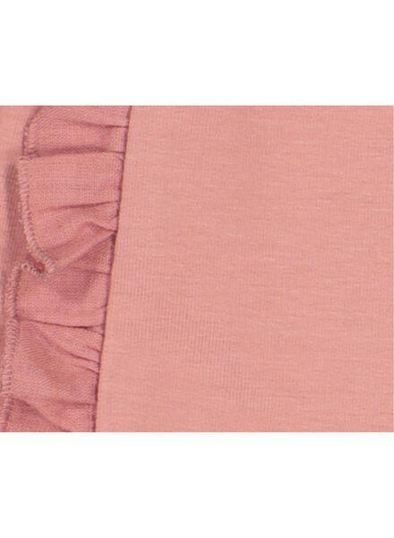 baby sweatpants with frills pink pink - 1000016987 - hema
