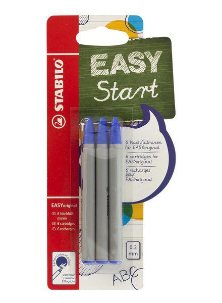 6-pack stabilo refills EASY original - 14540027 - hema