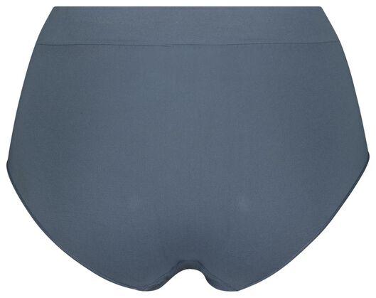 Damen-Slip, nahtlos, Mikrofaser mittelblau mittelblau - 1000022970 - HEMA
