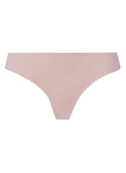 string femme second skin en micro rose pâle rose pâle - 1000001844 - HEMA