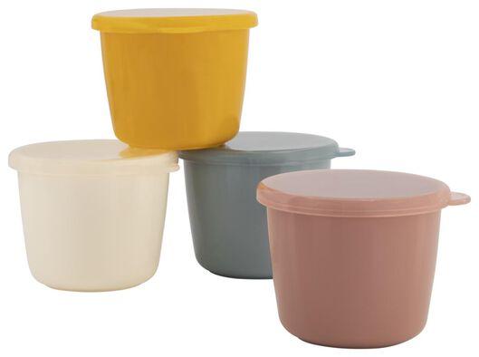 HEMA 4 Pots D'aliments Avec Couvercle