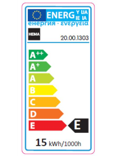 Backofenlampe, 15 W, 90 lm, klar - 20001303 - HEMA
