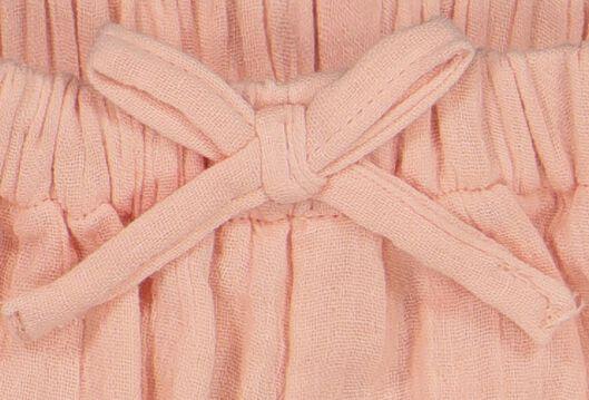 newborn shorts pink pink - 1000019723 - hema
