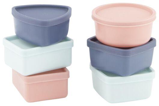 6 mini storage boxes - 80610308 - hema
