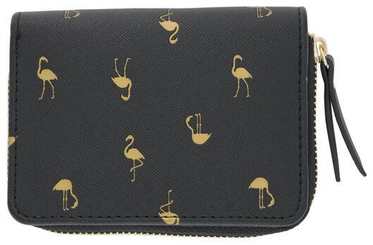 Portemonnaie, 9 x 12 cm, Flamingos - 18130043 - HEMA