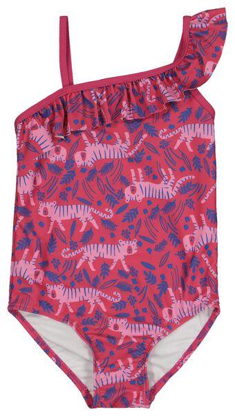 Kinder-Badeanzug knallrosa knallrosa - 1000018227 - HEMA
