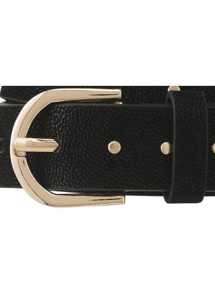 women's belt black black - 1000009612 - hema