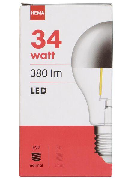 LED-Kopfspiegellampe – 34 W – 380 lm – Birne – silber - 20020014 - HEMA