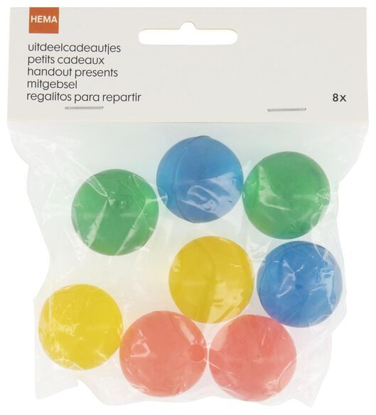 8 balles rebondissantes - 14200296 - HEMA